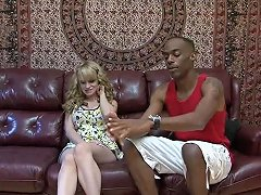 Shy Lady With Nice Boobs Is All A Nasty Black Guy Wants To Fuck